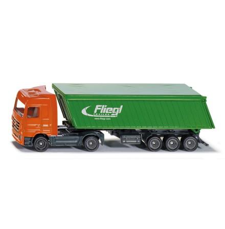 Siku Lastbil med Täckt Trailer 1:87