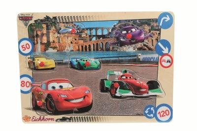 Cars 2 Figur Pussel