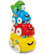 Clementoni Baby Fun Stacking Vehicles