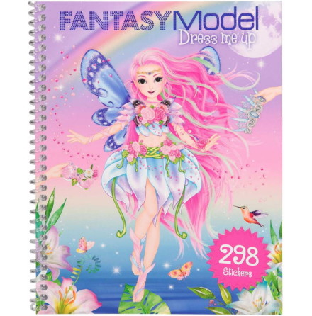 Fantasy Model Dress me up Stickersbok