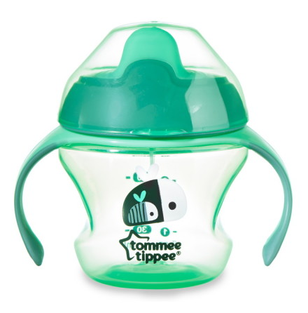 Tommee Tippe First Trainer Cup Grön 150ml, 4mån+