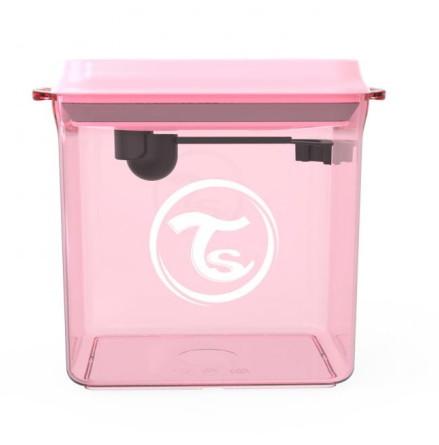 Twistshake Pulverbehållare 1700ml, Pastell Rosa