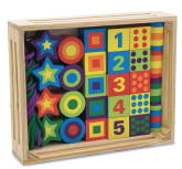 Melissa & Doug Lacing Beads in a Box