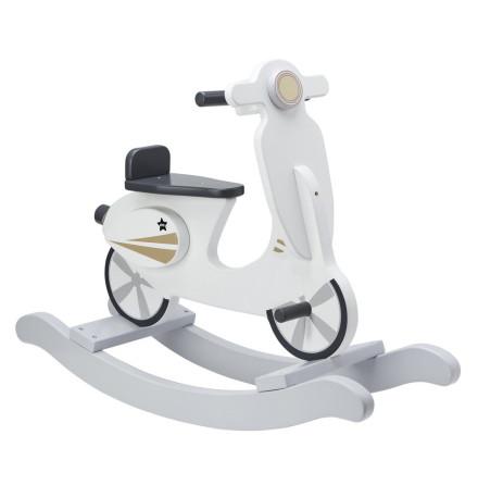 Kid's Concept Gunghäst scooter grå