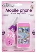 4 Girlz Mobiltelefon Och Bilnycklar, Ljus
