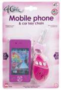 4 Girlz Mobiltelefon Och Bilnycklar, Mörk