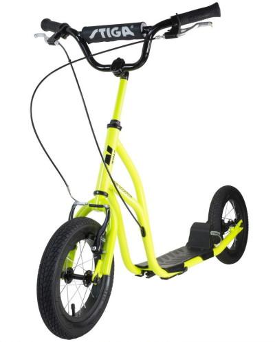 """Stiga Air Scooter 12"""", Limegrön"""