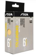 Stiga Training 40+ 6-pack Pingisbollar, Orange