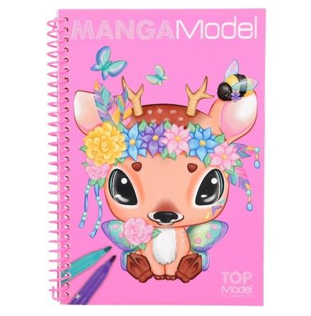 TOPModel Manga Model Fickmålarbok