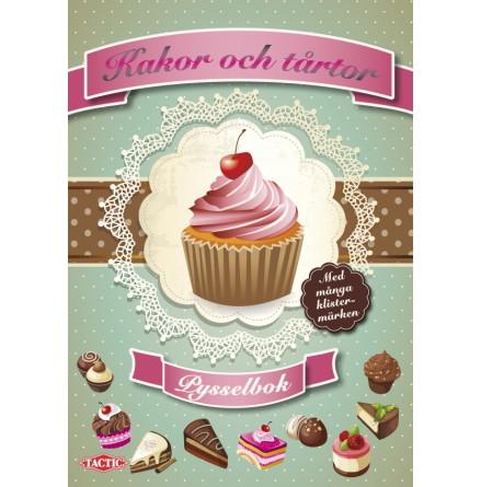 Kakor och tårtor, pysselbok med klistermärken