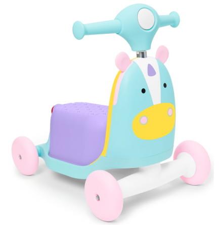 Skip Hop Zoo Ride-On Toy 3-i-1, Enhörning