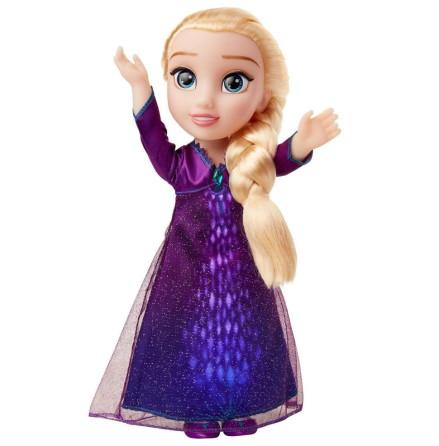 Disney Frozen 2 Elsa Docka Ljus, Sång och Tal