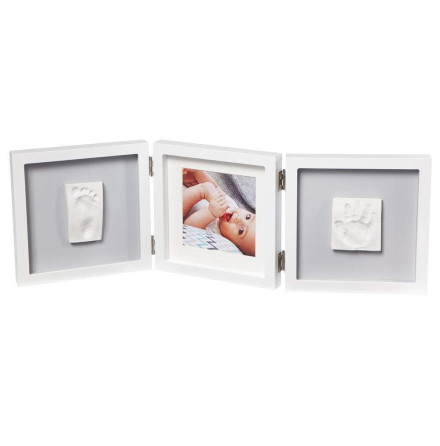 Baby Art My Baby Style Double Frame, Grey