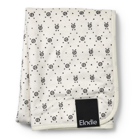 Elodie Details Pärlsammetsfilt - Monogram print