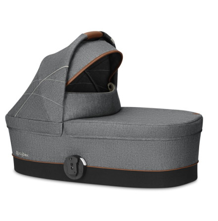 Cybex Cot S Liggdel, Denim Manhattan Grey