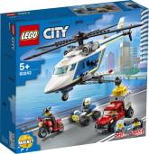 Lego City Polishelikopterjakt
