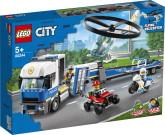 Lego City Polishelikoptertransport