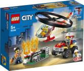 Lego City Räddning med brandhelikopter