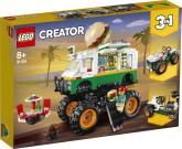 Lego Creator Hamburgermonstertruck