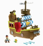 Fisher Price Jakes Musical Pirate Ship Bucky