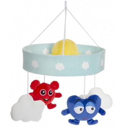 Teddykompaniet Babblarna Baby Mobil Moln