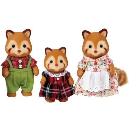 Sylvanian Families Röd Panda Familjen