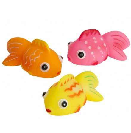 Badleksak Småfisk 3-delar