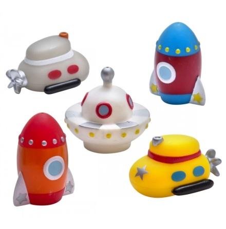 Badleksak Spaceinvaders 5-delar