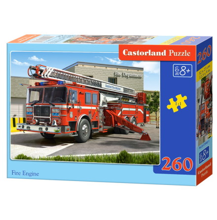 Fire Engine, Pussel, 260 bitar