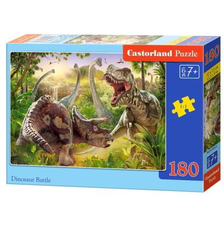 Dinosaur Battle, Pussel, 180 bitar