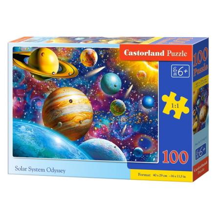 Solar System Odyssey, Pussel, 100 bitar