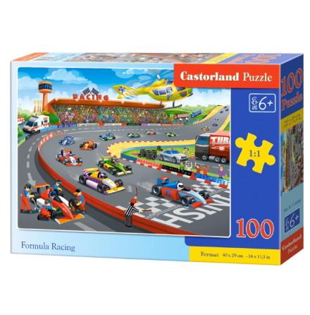 Formula Racing, Pussel, 100 bitar