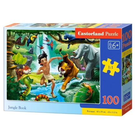 Jungle Book, Pussel, 100 bitar