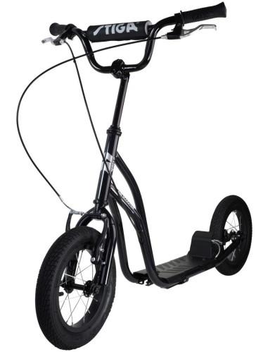 "Stiga Air Scooter 12"", Svart"