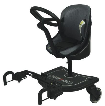 Easy X Rider 2-i-1 box med ståbräda, sits & ratt