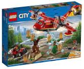 Lego City Brandflygplan