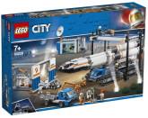 Lego City Raketmontering och transport