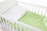 Babygreen B�ddset Chambray, Gr�n