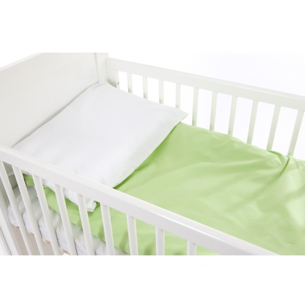Babygreen Bäddset Chambray, Grön