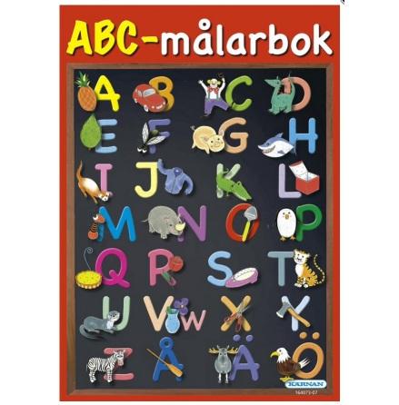 ABC Målarbok