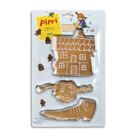 Pippi Långstrump Bakformar