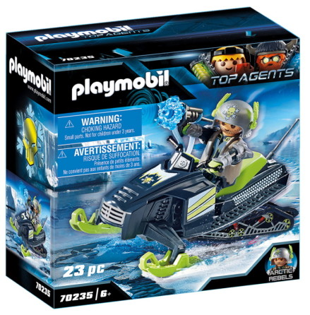 Playmobil Arctic Rebels snöskoter