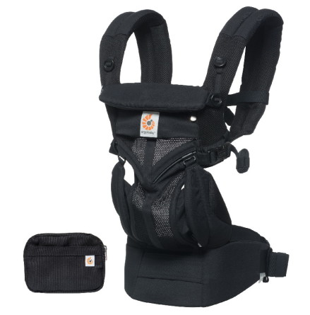 Ergobaby Omni 360 Bärsele Cool Air Mesh, Svart