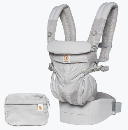 Ergobaby Omni 360 Bärsele Cool Air Mesh, Grå