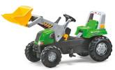 Rolly Toys rollyJunior Tramptraktor med frontlastare, Grön