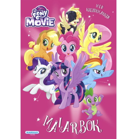 Målarbok My Little Pony Movie