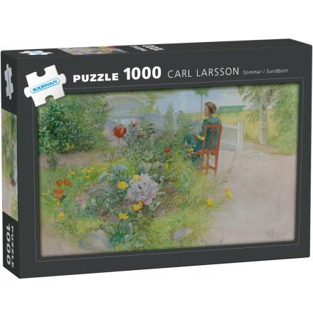 Pussel 1000 bitar Carl Larsson Sommar i Sundborn, Kärnan