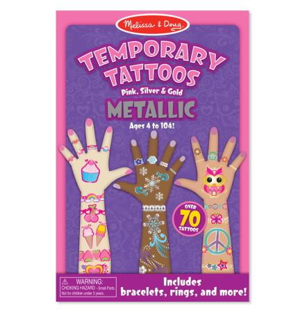 Melissa & Doug Temporära Tatueringar, Metallic