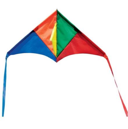 Melissa & Doug Mini Rainbow Delta Kite