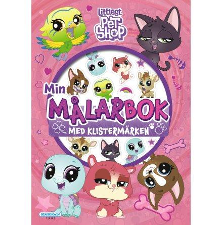 Littlest Pet Shop Målarbok med klistermärken
